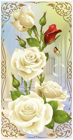 DIY Diamond Painting White Pink Rose Flowers Cross Stitch Diamond Embroidery Mosaic Diamonds Wall Stickers Home Decoration Diamond Wall, Diamond Paint, White Rose Flower, Rose Flowers, Multi Picture, Canvas Wall Decor, Cross Stitch Rose, Cross Paintings, Wall Stickers Home