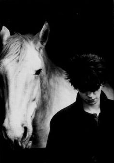 Ian McCulloch (from Echo and the Bunnymen) by Anton Corbijn for NME February 20th, 1982