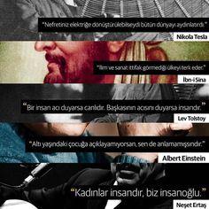 #söz #Nikola #Tesla #İbni #Sina #Lev #Tolstoy #Albert #Einstein #Neşet #Ertaş