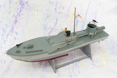 Plan to build a scale model torpedo boat