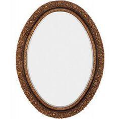 CR Mirrors Oval Victorian Mirror