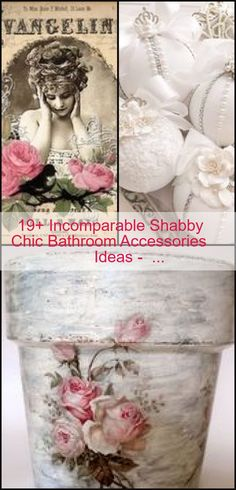 Shabby Chic Bathroom Accessories, Diy Crafts Vintage, Chic Bathrooms, Decorative Boxes, Check, Ideas, Home Decor, Room Decor, Home Interior Design