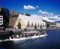 Det e la änna Feskekôrkan - The Fish church in Gothenburg