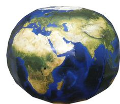 Earth Papercraft Model ** Also has good downloads of printable maps