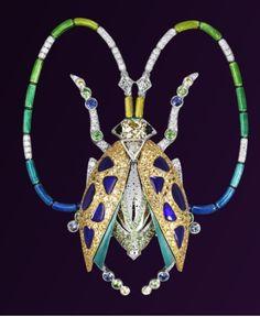 Scarab beetle by Lorenz Baumer