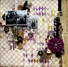"Violet Dreams ""Scraps of Darkness"" October Kit"