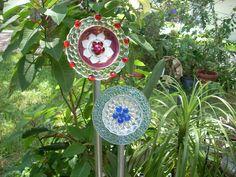 plate flowers