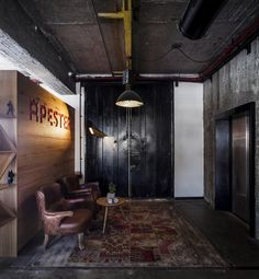 Roy David Studio has designed the new offices of Apester and CoCycles located in Tel Aviv, Israel. The firms were searching for a design that would be characterized as being youthful, innovative and one that has an overall coherent style.