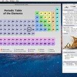 iElements, la tabla periódica de los elementos químicos en tu Mac