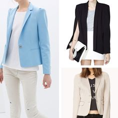 Rank & Style | Top Ten Fashion and Beauty Lists - Blazers Under $100 #rankandstyle