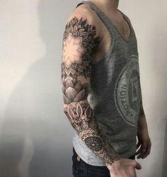 Mandala Full Sleeve Tattoo - 40 Intricate Mandala Tattoo Designs  <3 <3
