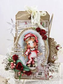 Cards by Camilla: Two tags for Christmas ♥