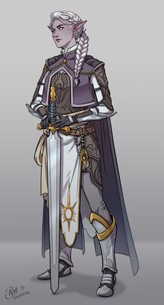 F moon elf paladin Elf Characters, Dungeons And Dragons Characters, Fantasy Characters, Fantasy Character Design, Character Design Inspiration, Character Art, Character Ideas, Dnd Elves, Pathfinder Character