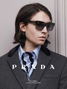 Ezra for Prada fall/winter 2013-14 campaign by David Sims ♥