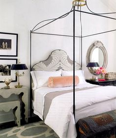 Bedroom interior design and decor ideas - Feminine_ classical_ pink_ grey_white - neutral Closet Bedroom, Home Bedroom, Dream Bedroom, Master Bedroom, Bedroom Decor, Design Bedroom, Pretty Bedroom, Blush Bedroom, Bedroom Ideas