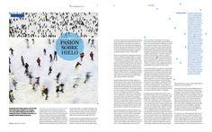 Reportaje sobre patinaje. Suplemento ES. La Vanguardia. Georgina mIret