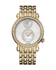 Queen Couture Gold Watch