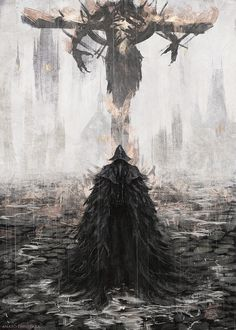 Final Fantasy Cloud, Dark Fantasy Art, Dark Art, Sif Dark Souls, Arte Dark Souls, Bloodborne Art, Soul Art, Fantasy Inspiration, Portraits