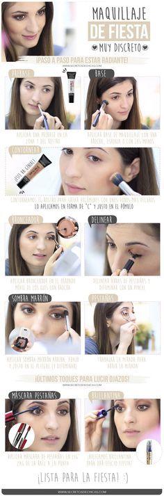 Maquillaje suave paso a paso