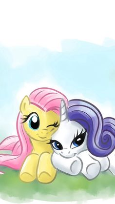 Fluttershy and Rarity