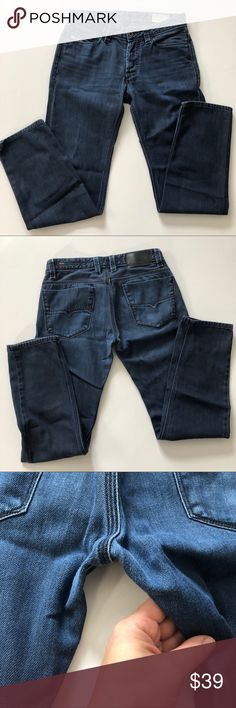 fb815582 Shop Men's Diesel Blue size Waist 27 Slim Straight at a discounted price at  Poshmark. Wash Size Open to reasonable offers!