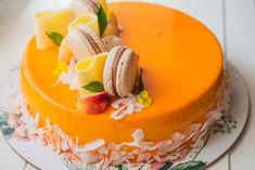 Mousse, Jacque Pepin, Crazy Cakes, Cakes And More, Macarons, Summer Vibes, Panna Cotta, Bacon, Dessert Recipes