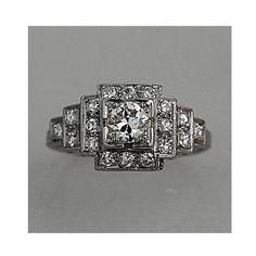 gorgeous vintage art deco ring