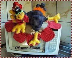 Resultado de imagen para como hacer un arreglo para horno microonda con gallinas