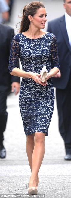 Duchess of Cambridge Kate Middleton: The wardrobe she wore to wow the world | Daily Mail Online