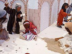 Eva Maria Jansen, biblische Erzählfiguren, Egli-Figuren, Kursleiterin, Nordrhein-Westfalen/Ausstellungen