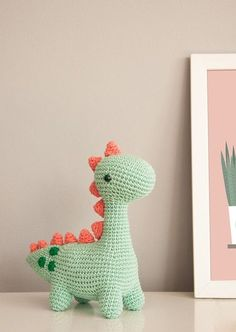 Crochet Chinese New Year Pig Amigurumi Free Pattern Kawaii Crochet, Crochet Diy, Crochet Crafts, Crochet Projects, Crochet Dinosaur Patterns, Crochet Patterns Amigurumi, Crochet Dolls, Knitting Patterns, Embroidery Patterns Free