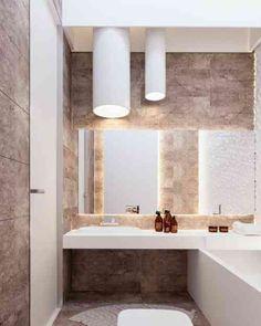 salle de bain de design élégant