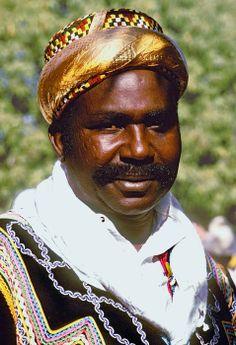 Fascinating Humanity: Benin: Bariba Aristocrat Dressed For End Of Ramada...