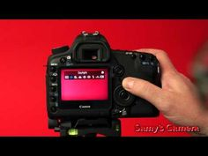 Setting Up The Canon 5D For Shooting Video - YouTube