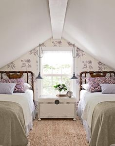 Charming Attic remodel birmingham,Attic master bedroom and Attic bedroom design view. Attic Bedroom Small, Attic Bedrooms, Attic Spaces, Cozy Bedroom, Guest Bedrooms, Attic Bathroom, Bedroom Ideas, Bedroom Designs, Upstairs Bedroom