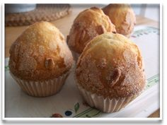 Mis dulces preferidos: MAGDALENAS DE XAVIER BARRIGA Cupcakes, Cupcake Cookies, Mexican Sweet Breads, Quick Bread, Baking Tips, Bread Recipes, Sweet Recipes, Ham, Muffins