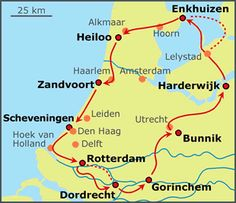Sand and Sea Tour bike tour in Holland | Bike-Netherlands.com