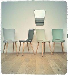 Chaises Bistrot Vintage Baumann Mondor Revisitées via OOMPA