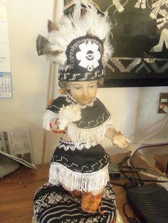 niño dios vestido de danzante