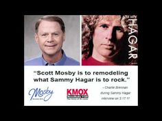 "Sammy Hagar ""endorses"" Scott Mosby."