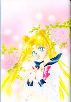 Tsukino Usagi~Kiss a Flower