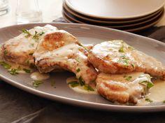 Smothered Pork Chops from FoodNetwork.com