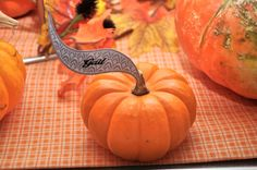 Autumn wedding Place cards