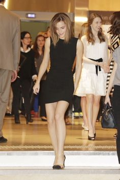 "Emma Watson leaving ""The Bling Ring"" Press Conference, Cannes (16.05.2013)"