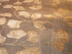 ginko leaf rug
