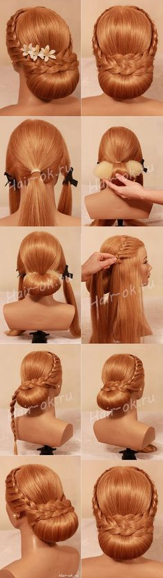 Hair Diy Formal Easy Hairstyles 40 New Ideas Evening Hairstyles, Elegant Hairstyles, Braided Hairstyles, Wedding Hairstyles, Braided Updo, Fishtail Plaits, Vintage Hairstyles, Vintage Updo, Victorian Hairstyles