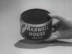 Classic Maxwell House Coffee Commercial from the Maxwell House Coffee, Coffee Delivery, Old Commercials, Vintage Television, Coffee Talk, Alcohol Drink Recipes, Old Tv Shows, Good Ole, Chocolate Coffee