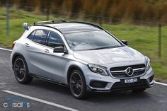 Mercedes-Benz GLA 45 AMG 2014 Review