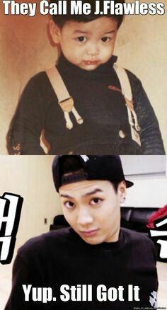 Jackson gonna slay everyone with them eyebrows