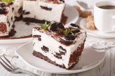 Käsekuchen mit Oreokeks-Boden #oreokekse #oreo #oreocheesecake #cheesecake #käsekuchen